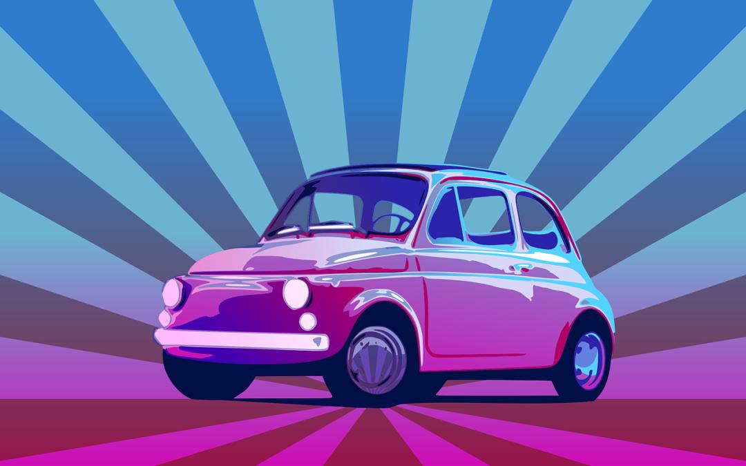 Reklamer på hjemmesider og biler
