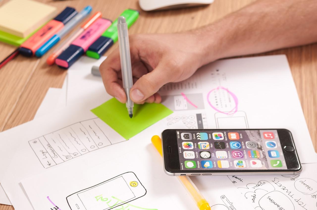 Webdesign brainstorm