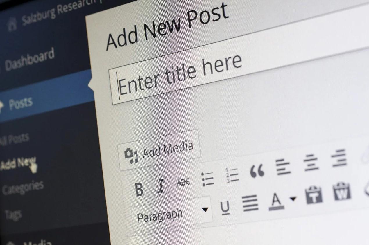 Igang med at skrive et blogindlæg