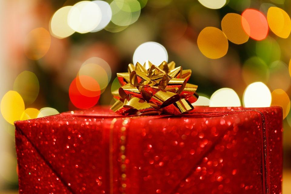 julegave, stjerne, jul