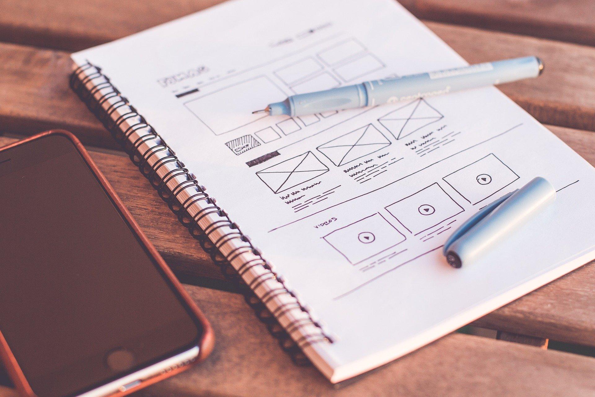 plan over webdesign